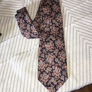 VTG Christian Dior silk men's tie